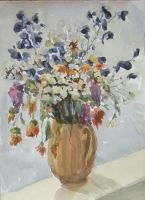 Bouquet of wild flowers by Amadeo-Amadeo