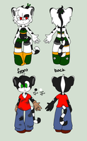 Adoptables: Artemis and Apollo CLOSED by CharCharCommish