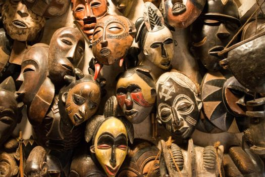 African Tribal Masks by JustinBowen
