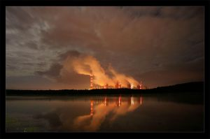 Lake on fire by sWr07