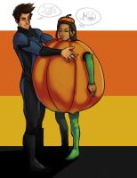 Zutara Halloween by asherluck