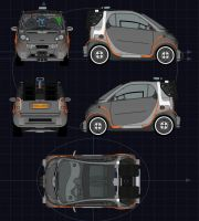 Back to the Future SmartCar BP by calamitySi