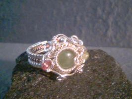 Romance - Adjustable ring by Carmabal