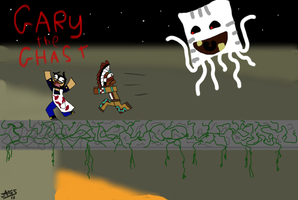 Gary the Ghast by SpacePie