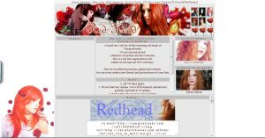 REDHEAD Layout by RoseOfTheFlames