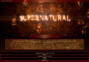 Supernatural journal skin by aenorum