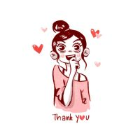 Thank you  GIF Animation by Iraville