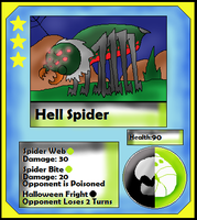 Hell Spider (Adopt) by Dianamond