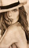 Daria Werbowy by BrickRed1