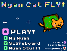 Look I made my own Nyan by Alianna013