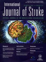International Journal of Stroke 2011 cover design by amyhooton