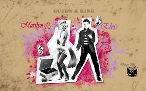 Elvis and Marilyn by CAT-GIRL-Q8