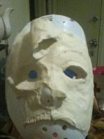 Tiano skull mask first attempt by karrish
