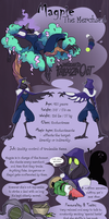 Wizard Palooza OCT - Magpie The Merchant by Mindless-Corporation