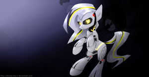 GLaDOS by QueenBloodySky