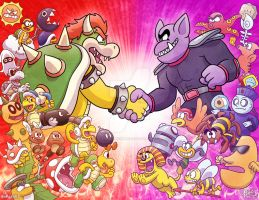 A Bowser-Tatanga Alliance by TheBourgyman