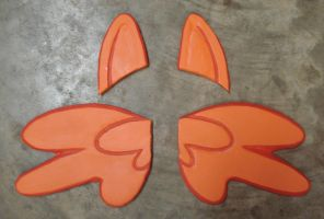 MLP Scootaloo Ears and Wings by RebelATS