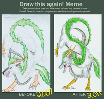 Draw This Again-Haku by itsmar