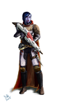 Destiny Hunter by Daveastation