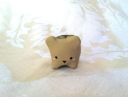 Bear Planter Figure by PinkChocolate14