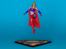 Ame Comi Supergirl by bigcurf