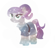 Crystal Maud Pie by moonfire-dovahkiin