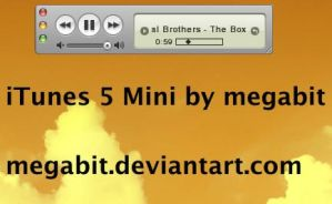 iTunes 5 Mini Winamp Skin by megabit