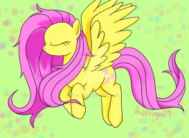 Fluttering with Grace by Violyre