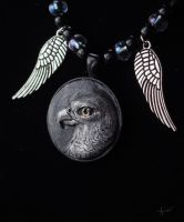 :.Falcon Pendant.: by XPantherArtX