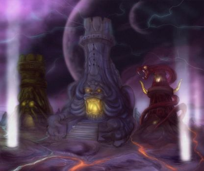 Towers of Eternia by JazylH