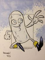 ICEMAN sketchcard commission by thecheckeredman