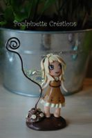 Sweet Fairy : Banana Chocolate by PoulpinetteCreations