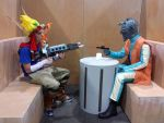 Jak and Daxter Vs. Star Wars Greedo by Abydell