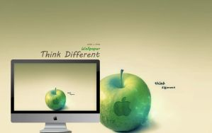Think Different Wallpaper by Martz90