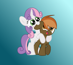 Sweetie And Button by AppleBloom49