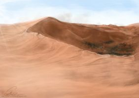 Drop in the Desert by ValkAngie