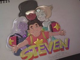 steven universe by X3carlyX3
