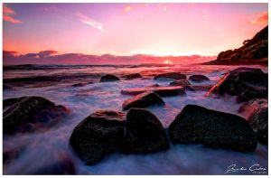 Morning Sunrise Burleigh HDR by jaydoncabe