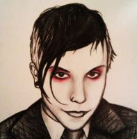 Frank Iero by duringthisoperation
