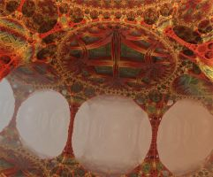 Tessellation Ceiling by SuicideBySafetyPin