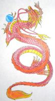 Asian Dragon Tattoo by CrazyCrocuta