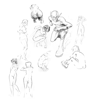 Some Life Drawing by Petarsaur