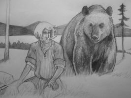 dontsearchgooglefor'bearman' by Finnguala