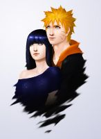 naruto and hinata by FKAwesome
