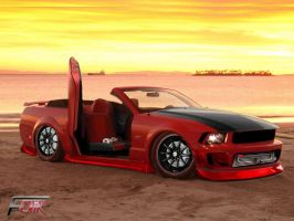 ford mustang by Faik05