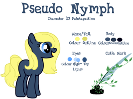 MLP - Commish - Ref Sheet for Paintapastime by cheesepuff2