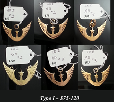 New Lunar Republic Type I Prototype Pendants SALE by ChaosDrop