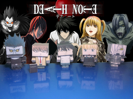 Cubeecraft Death Note by RatedrCarlos