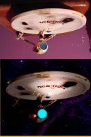 Enterprise A: Before and after by Yunners