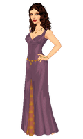 Inara's purple gown by moara